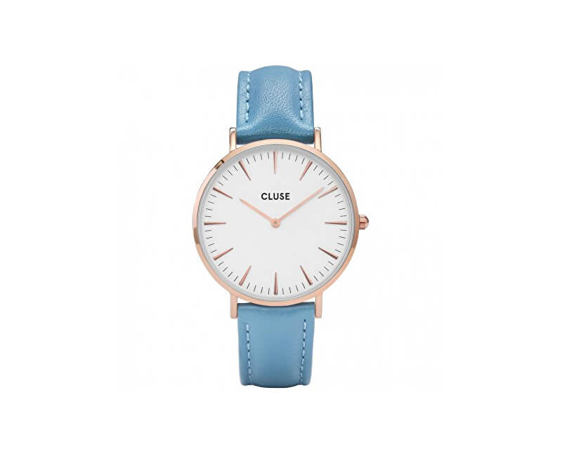 Cluse La Bohème Rose Gold White/Retro Blue CL18033