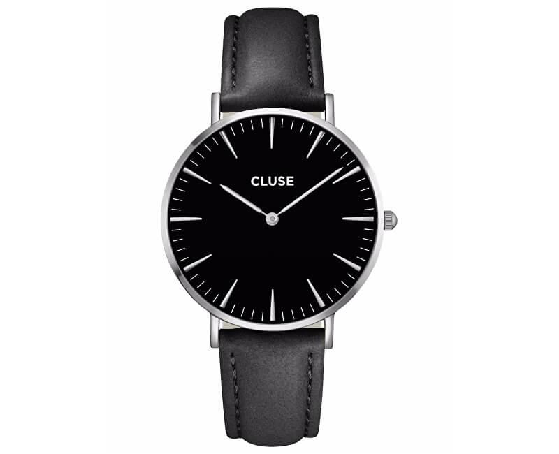 Cluse La Bohème Silver Black/Black CL18201