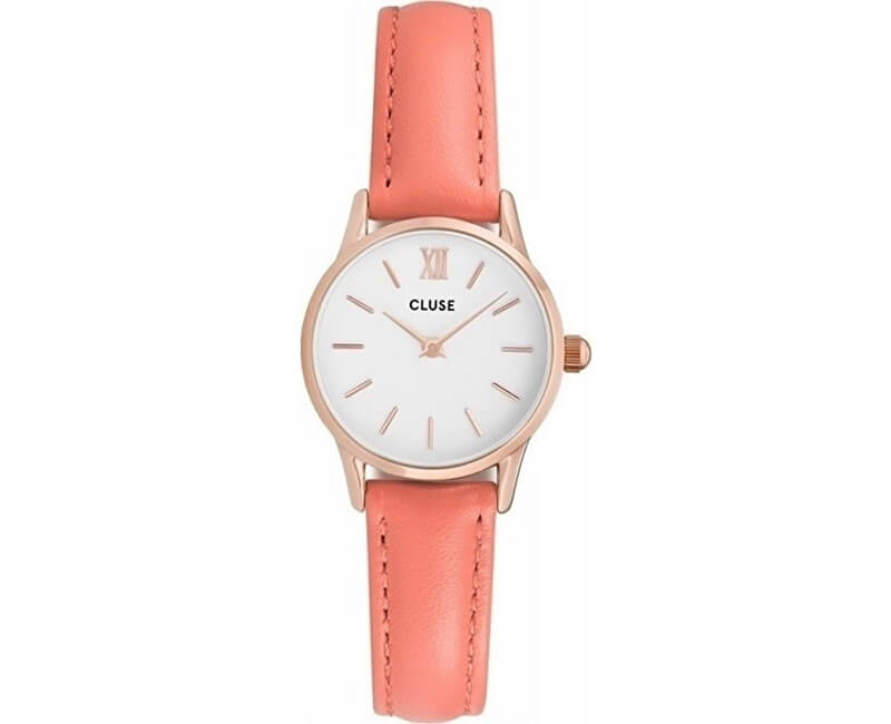 Cluse La Vedette Rose Gold White/Flamingo CL50025