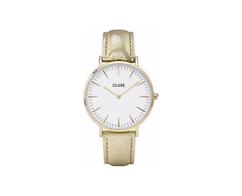 Cluse MinuitGold White/Gold Metallic CL30036