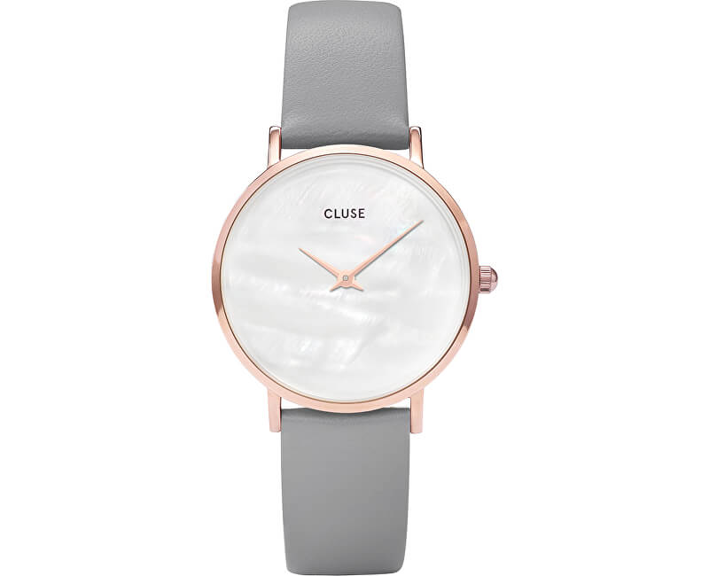 Cluse MinuitLaPerle Rose Gold White Pearl/Stone Grey CL30049
