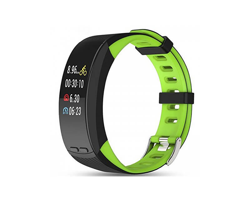 Deveroux Deveroux P5 GPS fitness náramek - zelený