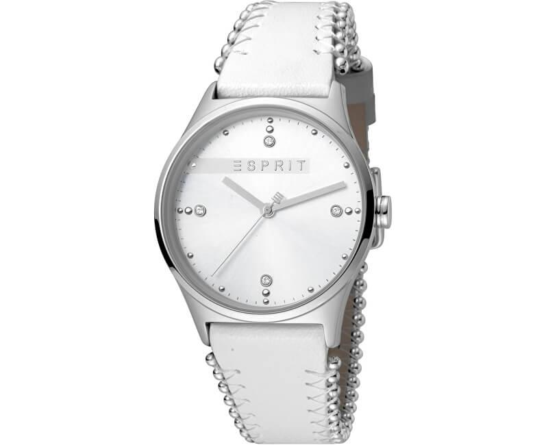 Esprit Drops 01 Silver White ES1L032L0015