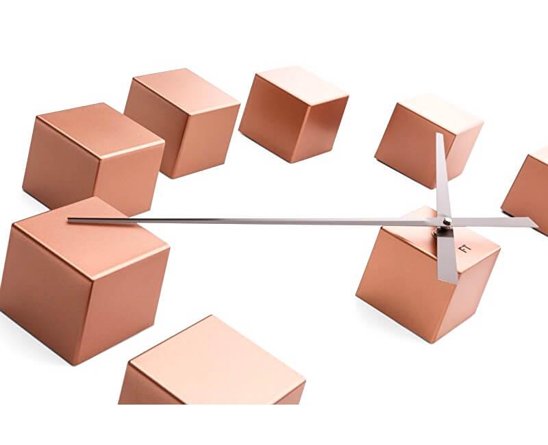 Future Time Nalepovací hodiny Cubic Copper FT3000CO Doprava ZDARMA ... 70917f67936