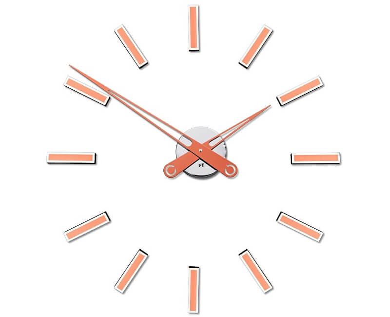 Future Time Nalepovací hodiny Modular Copper FT9600CO Doprava ZDARMA ... f11a719e271