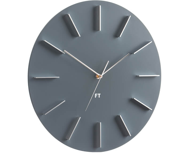 Future Time Round Grey FT2010GY