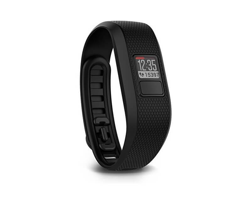 Garmin Vivofit3 chytrý náramek L černý