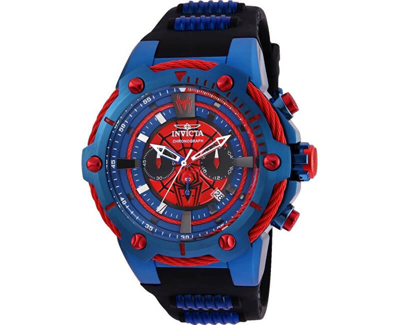 Invicta marvel spiderman 25688 doprava a ro n poji t n hodinek zdarma for Spiderman watches