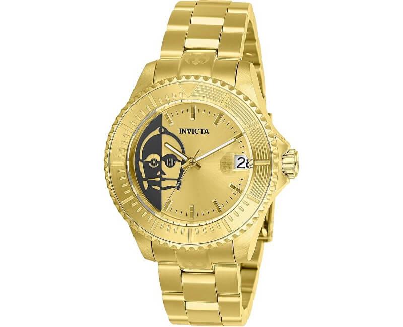 2b2622a31c0 Invicta Star Wars C-3PO 26167 Doprava a roční pojištění hodinek ...