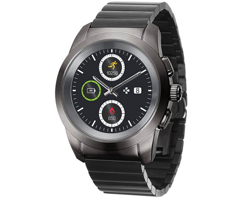 91a7035238fa MyKronoz Hybridní hodinky ZeTime Elite Titanium Modern Link - 39 mm ...