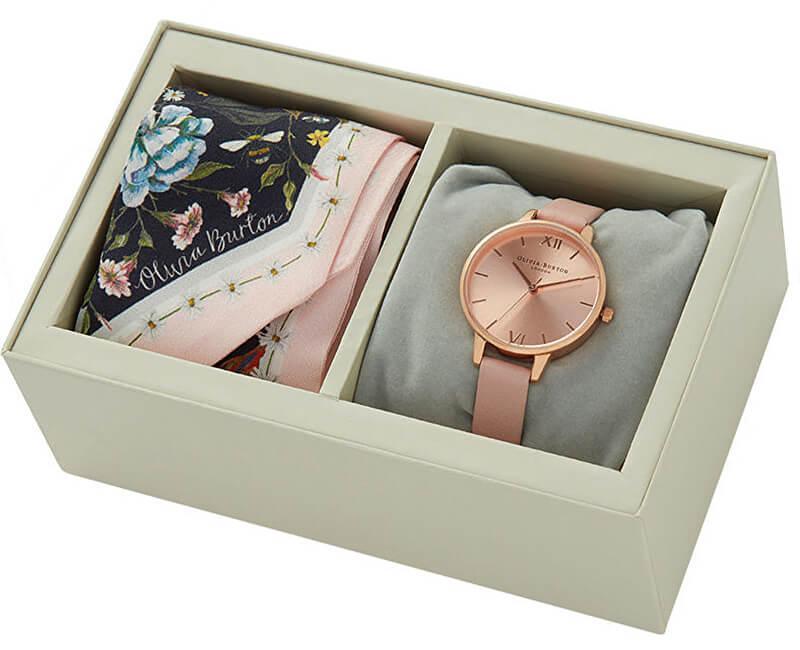 Olivia Burton Set cadou ceas și eșarfa OB16GSET23