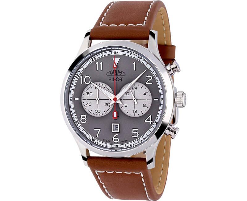 Prim Pilot Chronograph - C Doprava a roční pojištění hodinek ZDARMA ... 91cd63cf8c