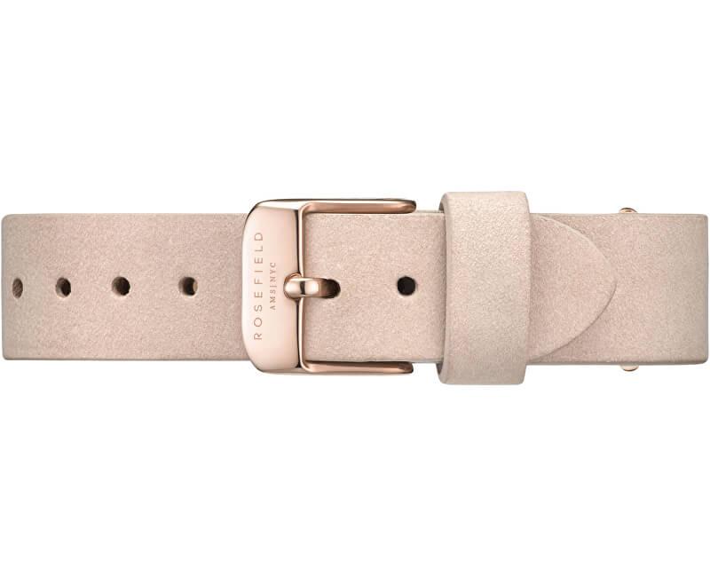 Rosefield WestVillage Soft Pink Rosegold Strap