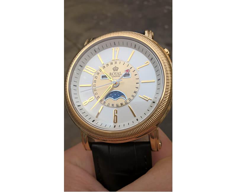 Royal London 41173-02 Pánské hodinky s fází měsíce - SLEVA 1000 Kč ... 7f565e1a4f8
