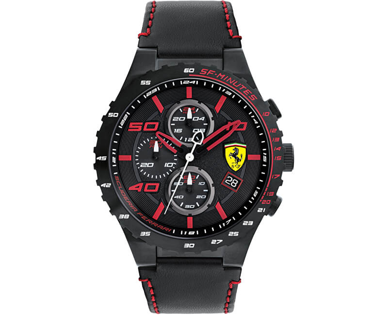 Scuderia Ferrari 0830363 Doprava a roční pojištění hodinek ZDARMA ... f4485d9fc2f