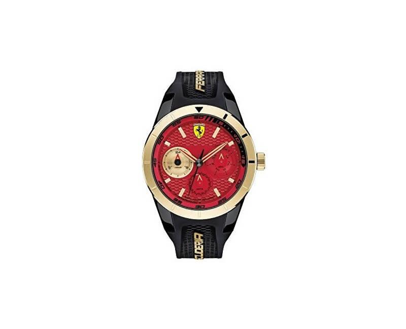 Scuderia Ferrari Red Rev-T 0830386 Doprava a roční pojištění hodinek ... 4aa42491415