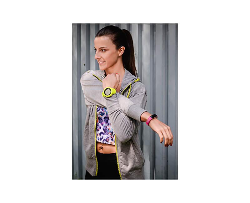 be281407696 Sigma Fitness náramek Activo Pink - SLEVA 591 Kč