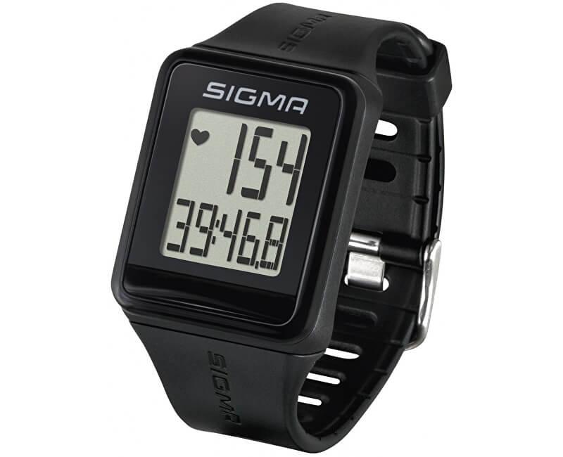Sigma Pulsmetr iD.GO černý 24500 s hrudním pásem