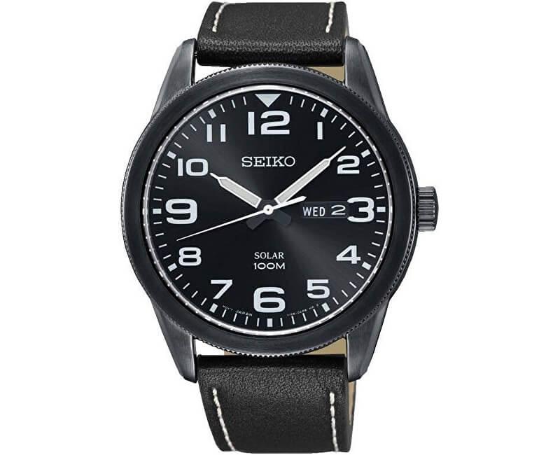 Seiko Solar SNE477P1 Doprava a roční pojištění hodinek ZDARMA ... 5dc5581f699