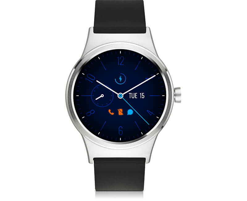TCL MOVETIME Smartwatch Silver/Black MT10G-2ALCE11 - SLEVA