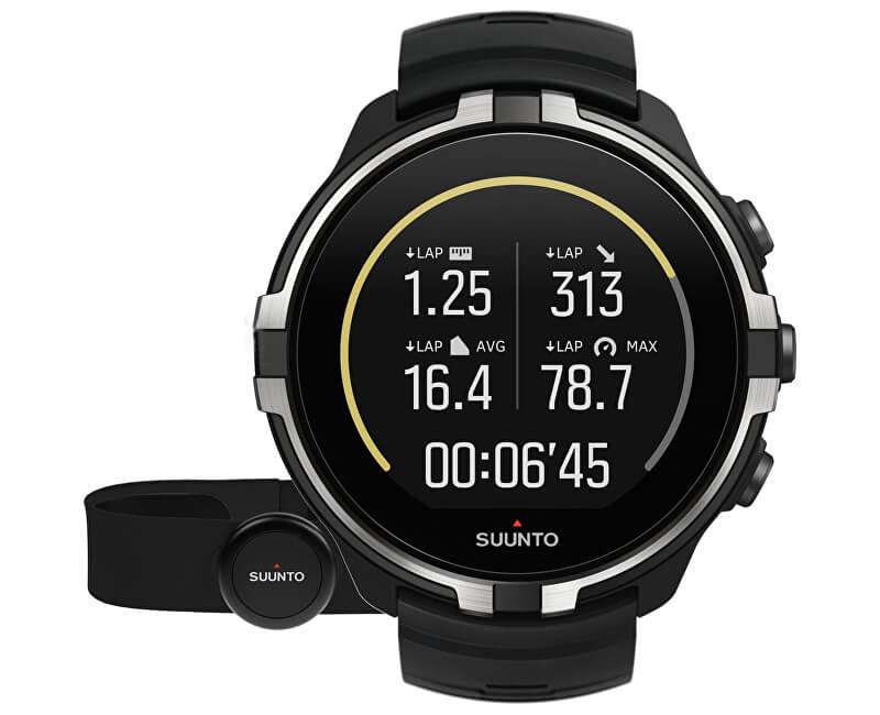 Suunto Suunto Spartan Sport Wrist HR Baro Stealth with Belt