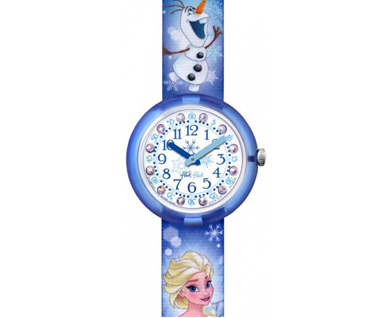Swatch Flik Flak Disney Elsa & Olaf ZFLNP023