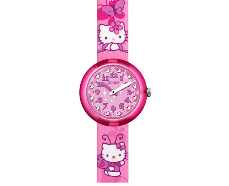 Swatch Hello Kitty Buterfly ZFLNP005 Doprava ZDARMA  1f1f154c91e