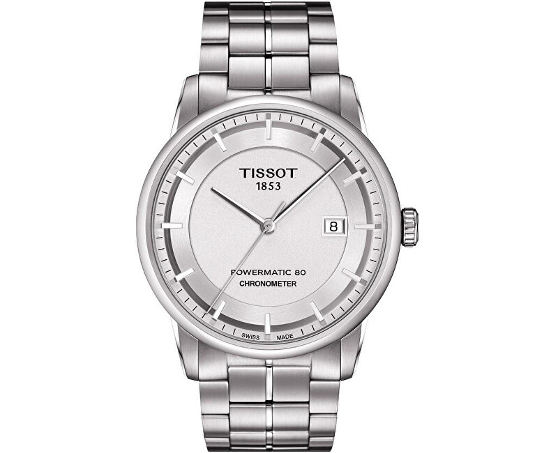 Tissot T-Classic Luxury Powermatic 80 T086.408.11.031.00 COSC