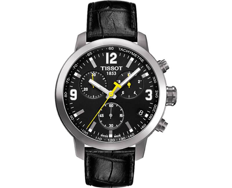Tissot PRC 200 T055.417.16.057.00 Doprava a roční pojištění hodinek ... d3a78d4733