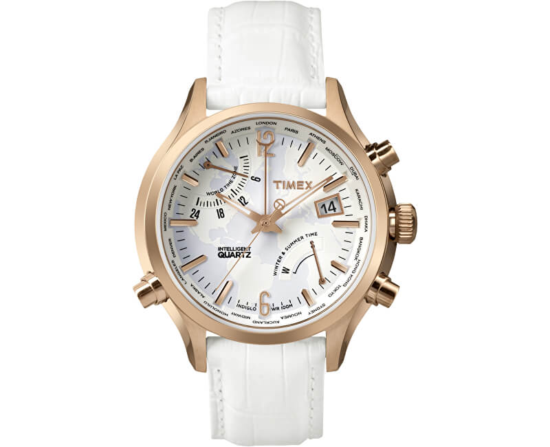 Timex Intelligent Quartz World Time TW2P87800 Doprava ZDARMA ... 841a3990907
