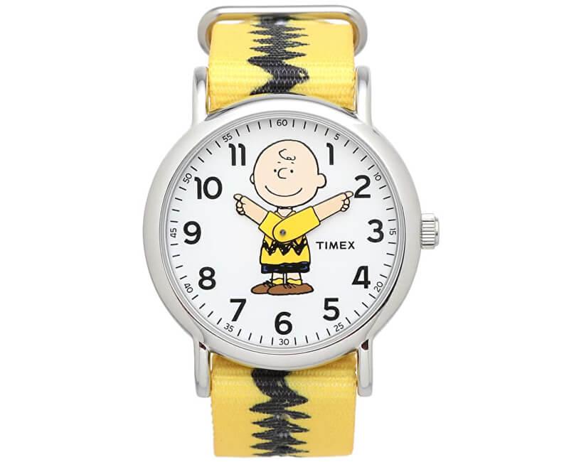 Timex Weekender x Peanuts: Charlie Brown TW2R41100
