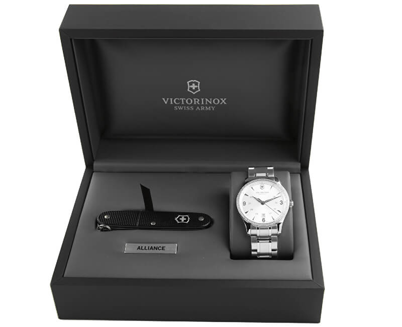 Victorinox Swiss Army Sada hodinek a nože Alliance 241712.1