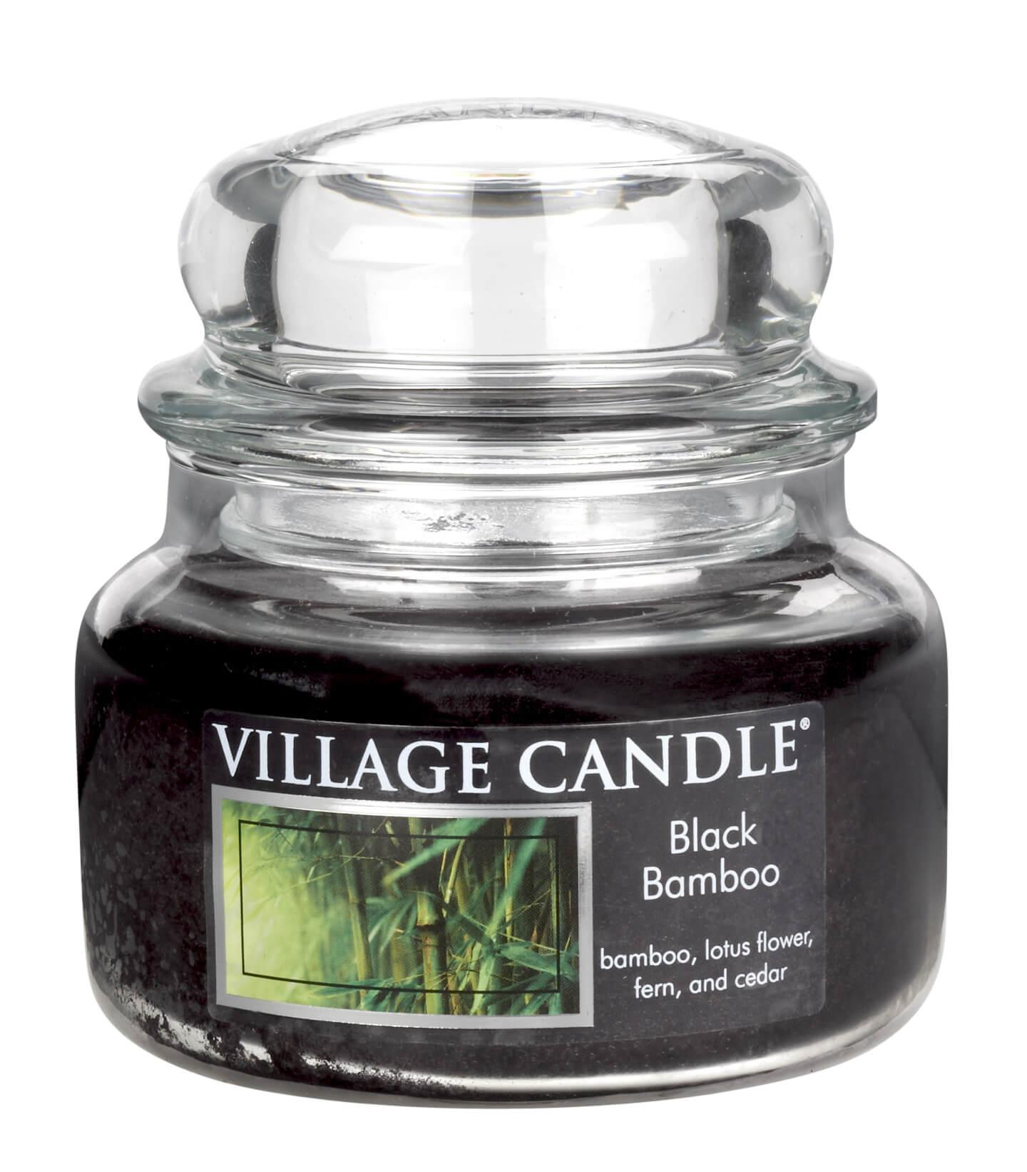 Village Candle Duftkerze Im Glas Bambus Schwarzer Bambus 269 G