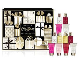 Darčeková sada Adventný kalendár 12 dní (12 Days Of Christmas Gift Set)