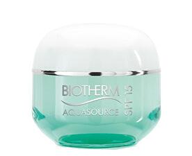 Cremă profund hidratantă pentru ten normal sau combinatSPF 15 Aquasource (Multi-Protective Ultra-Ligh Cream) 50 m