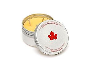 Přírodní aromaterapeutická svíčka s energizující vůní (Energising Blend Candle) 100 g