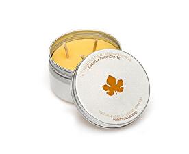 Přírodní aromaterapeutická svíčka s očisťující vůní (Purifying Blend Candle) 100 g