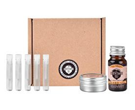 Malý testovací set Vanilka, palo santo, tonkové boby