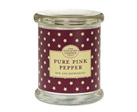 Vonná svíčka ve skle s víčkem Růžový pepř (Pure Pink Pepper) 848 g