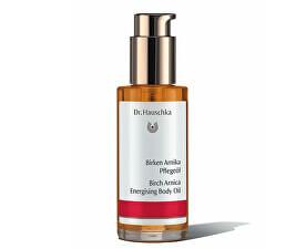 Pestujúci telový olej s výťažkami z brezy a arniky (Birch Arnica Energising Body Oil) 75 ml