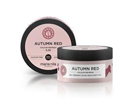 Jemná vyživujúce maska bez permanentných farebných pigmentov Autumn Red ( Colour Refresh Mask)
