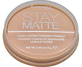 Matujúci kompaktný púder Stay Matte 14 g