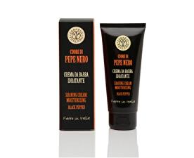 Hydratační krém na holení pro muže Černý pepř (Shaving Cream Moisturizing) 100 ml