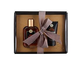 Set cadou de lux pentru barbati piper negru