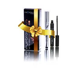 Set cadou de cosmetice decorative pentru îngrijirea genelor și a sprâncenelor