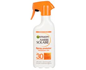 Spray de protecție pentru pielea deschisă și deja bronzată Ambre Solaire SPF 30 (Spray Protector) 300 ml