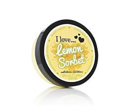 Vyživující tělové máslo s vůní citronového sorbetu ( Lemon Sorbet Nourishing Body Butter) 200 ml