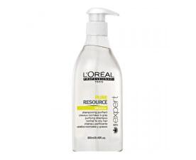 Sampon de curățare pentru păr gras Serie Expert ( Pure Resource Shampoo) 500 ml