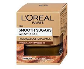 Brightening pielii peeling cu ulei din semințe de struguri (Smooth Sugars Glow Scrub) 50 ml