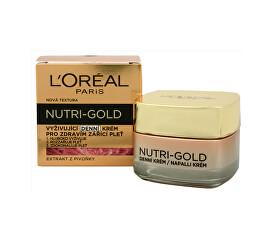 Vyživující denní krém pro zdravím zářící pleť Nutri-Gold (Nourishing Daily Cream) 50 ml